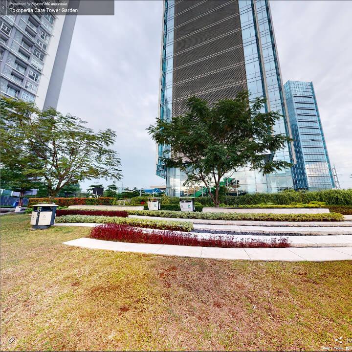 Virtual Tour Tokopedia Care Garden