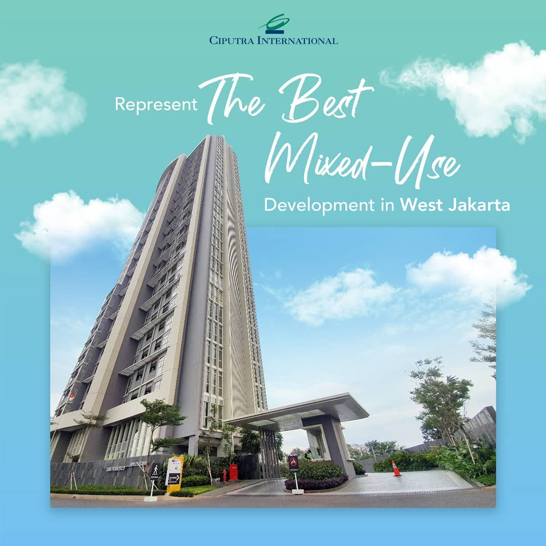 Represent The Best Mixed-Use Development in West Jakarta