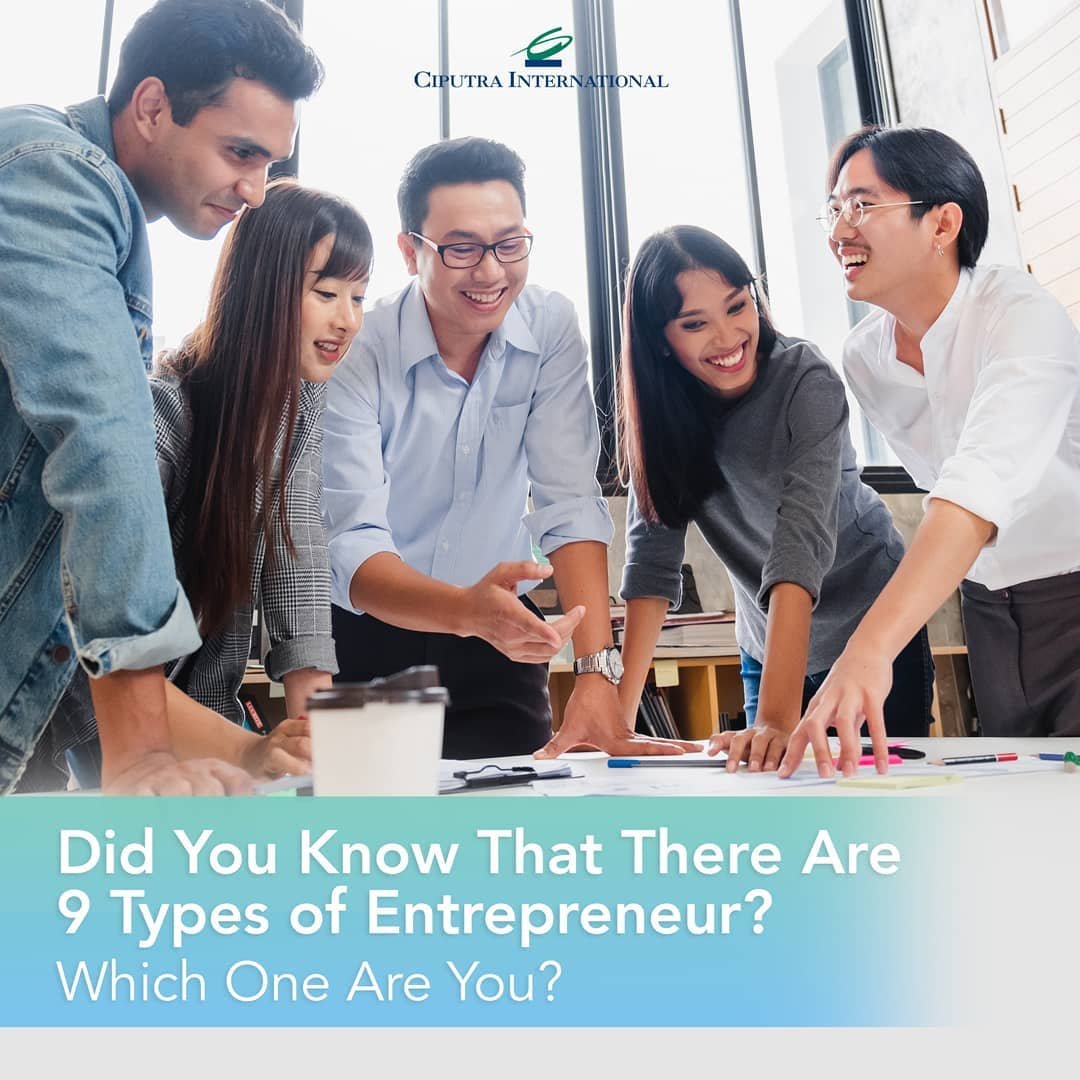 Did You Know That There Are 9 Types of Entrepreneur, Which One Are You?