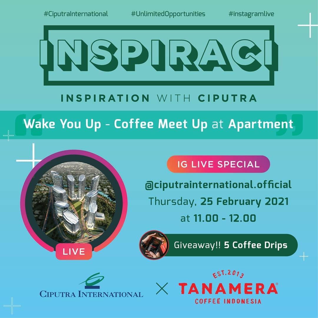 INSPIRACI: Wake You Up - Coffee Meet Up at Apartment