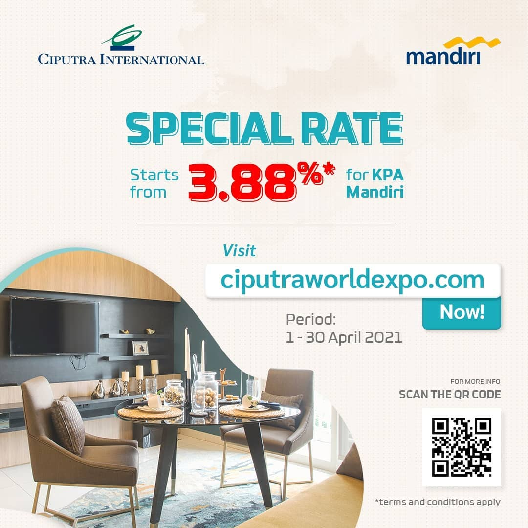 Special Rate Starts from 3.88% for KPA Mandiri