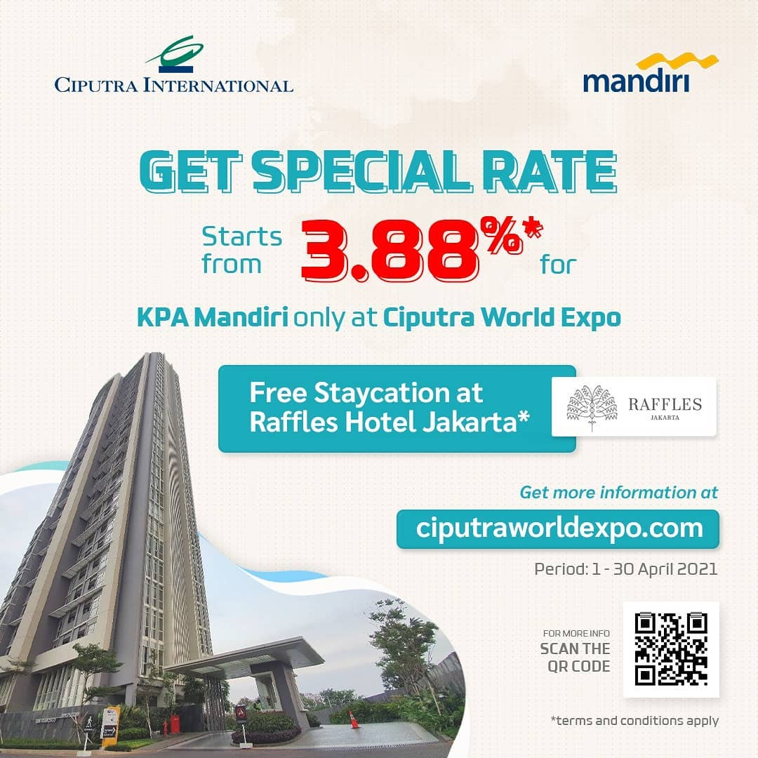 Get Special Rate Starts From 3.88% for KPA Mandiri