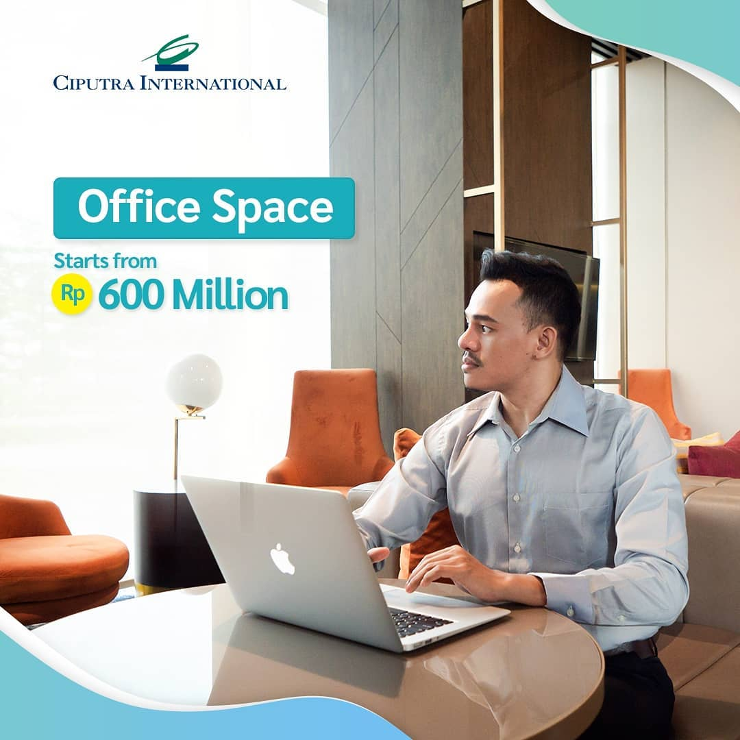 Office-Space Starts from Rp 600 Million