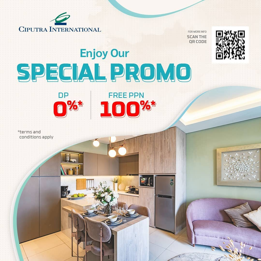 Enjoy Our Special Promo DP 0%, Free PPN 100%