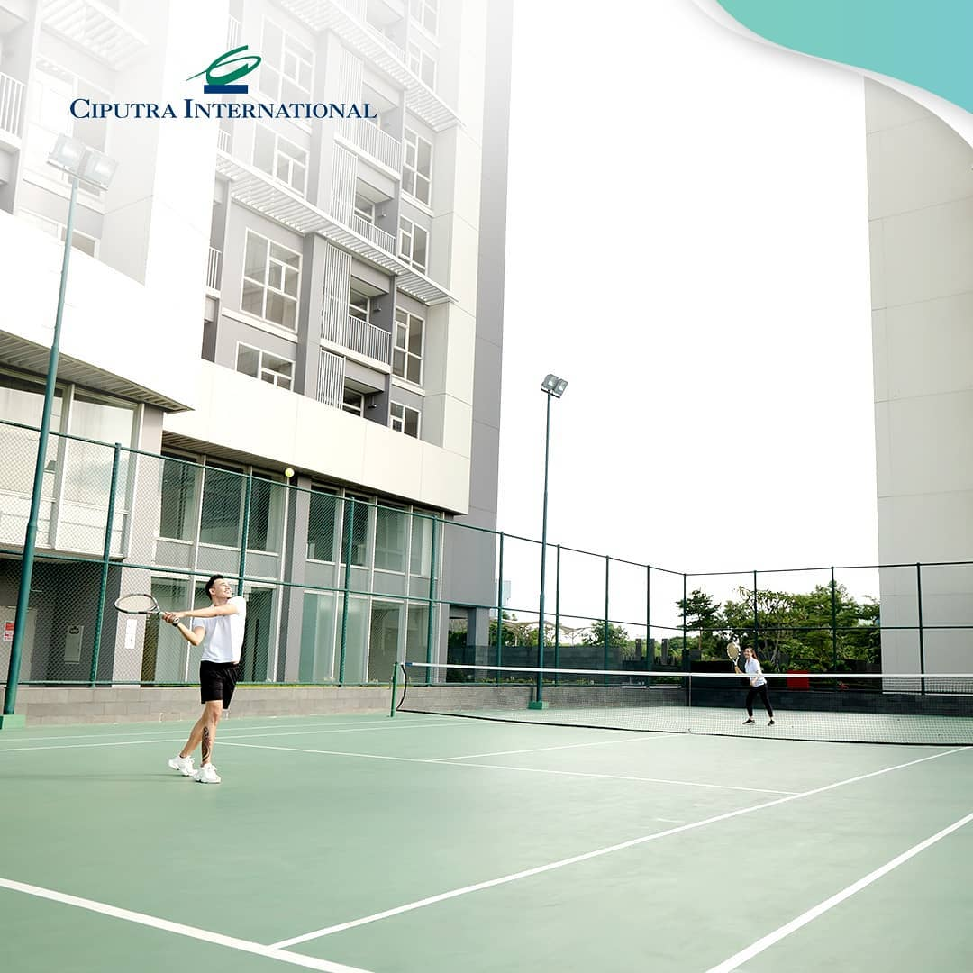 Spend Your Weekend Playing Tennis at Ciputra International