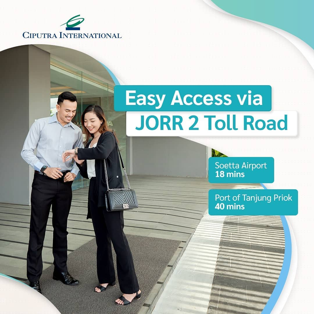 Easy Access via JORR 2 Toll Road