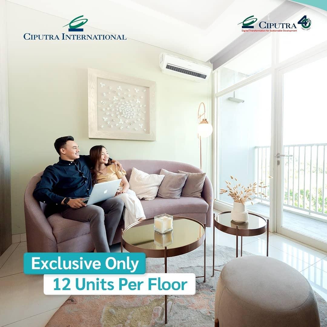Exclusive Only 12 Units Per Floor