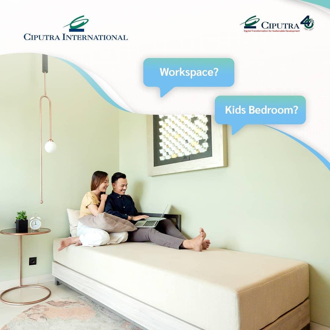 2 Bedroom Type from Ciputra International