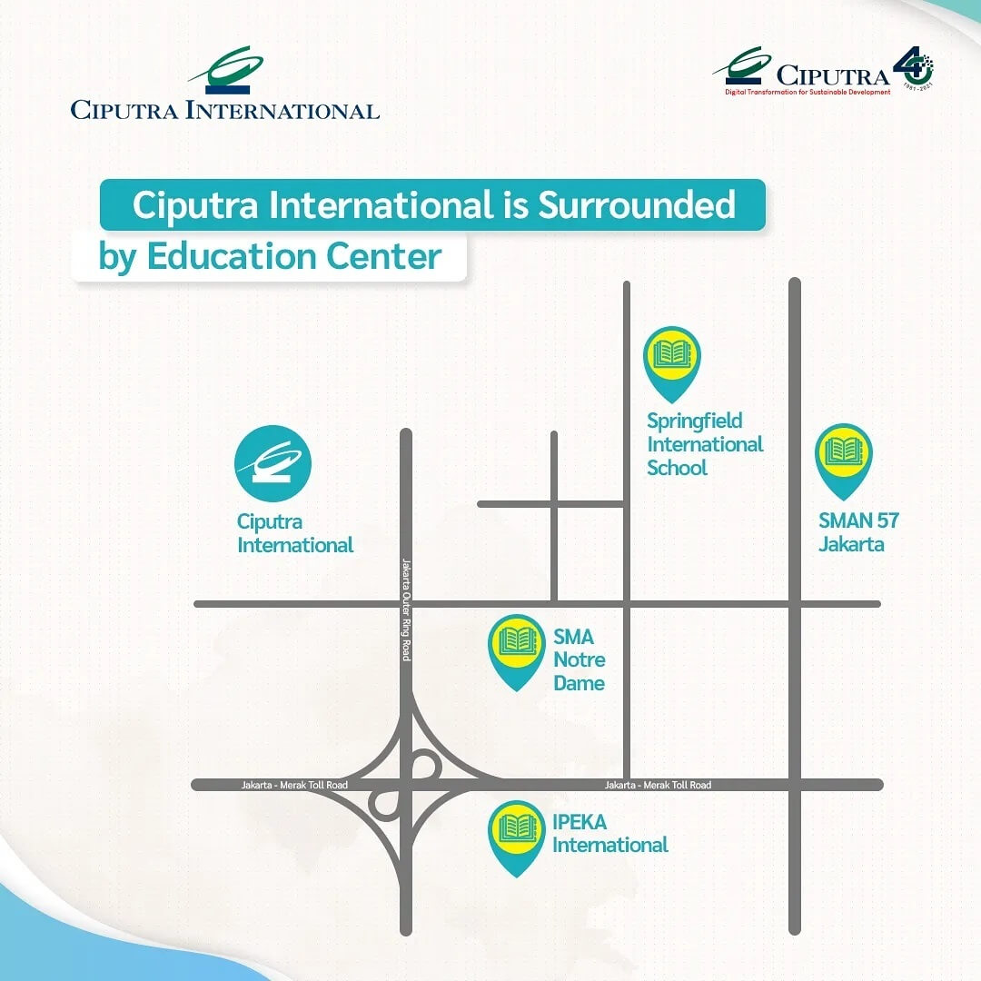 Ciputra International is Surrounded by Education Center