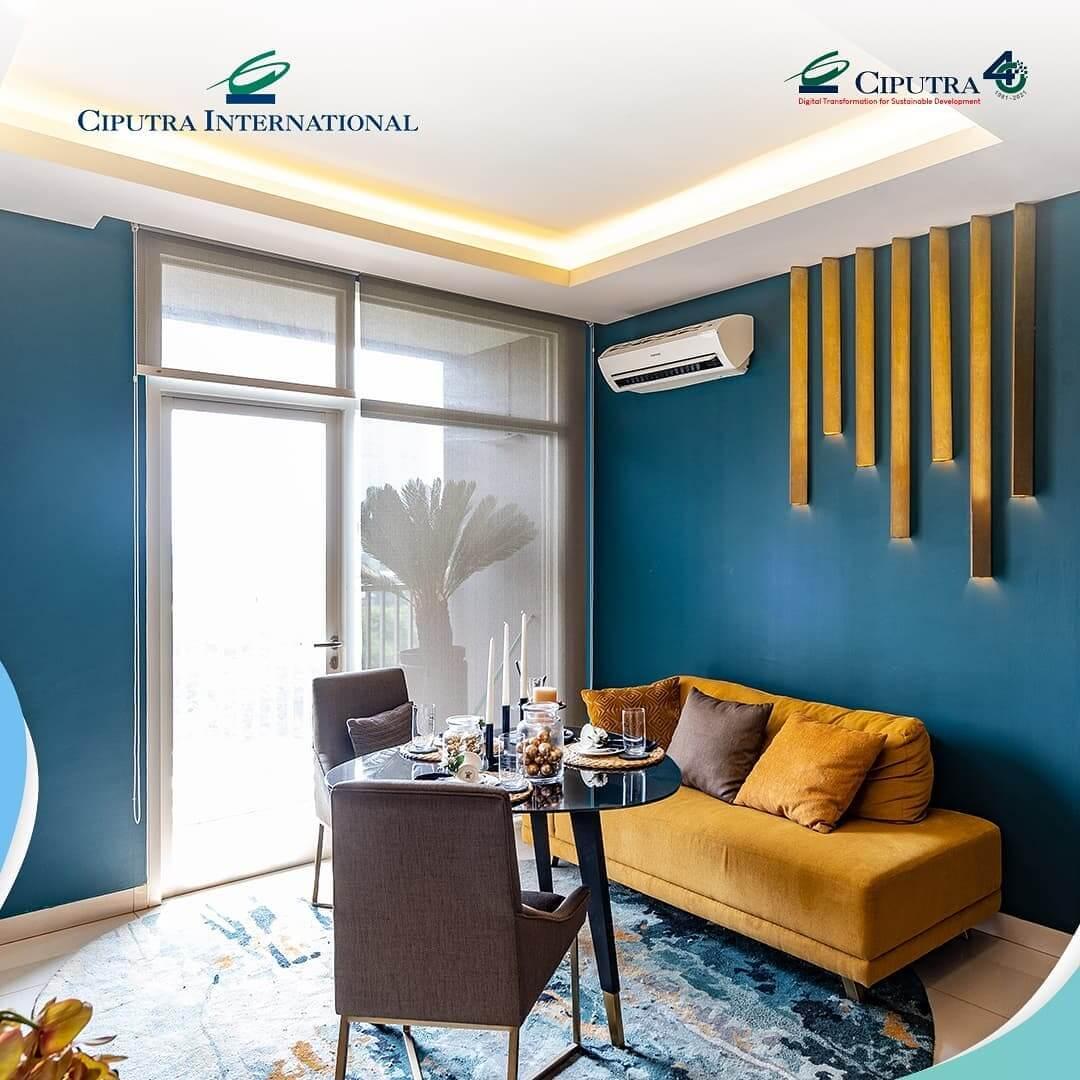 Feel the Comfort of 1 Bedroom Unit at Ciputra International