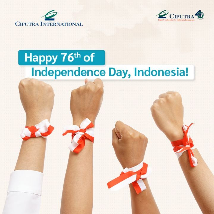 Happy 76th Independence Day, Indonesia!