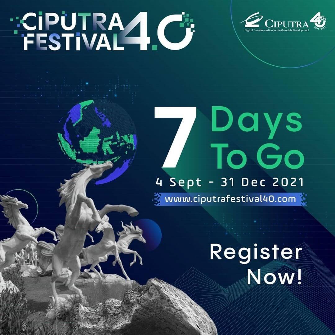 Ciputra Festival 4.0 7 Days To Go