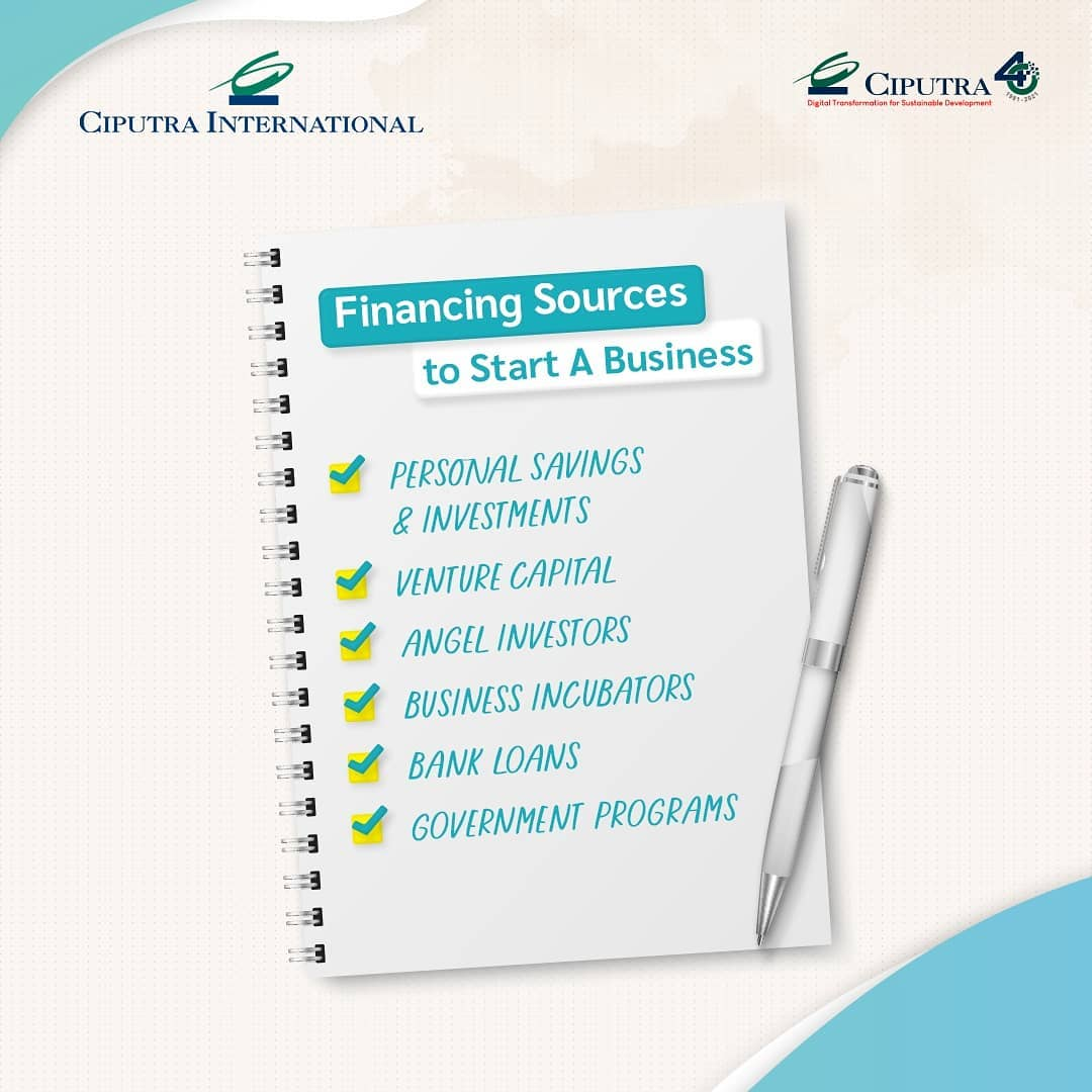 Financing Sources to Start A Business