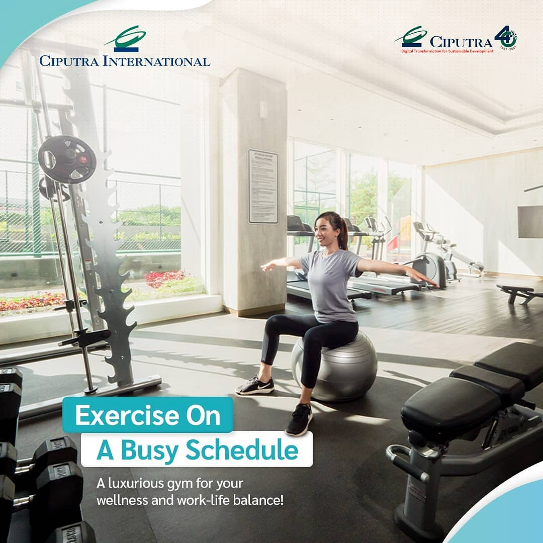 Exercise on A Busy Schedule